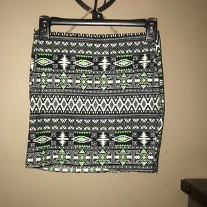 Hot Kiss Skirts - Tribal mini skirt